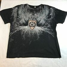 Dream Theater Tee Shirt XL Black Clouds & Silver Anniversary Tour 2010 Band Show