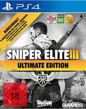 Ps4 jeu sniper elite 3 III-ultimate edition neuf