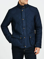 RRP £300 Clearance Sale Ralph Lauren Mens Navy Blue Quilted Jacket Size Medium