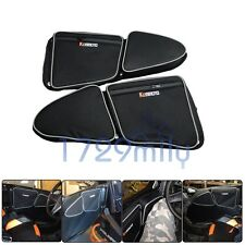 Door Bags with Knee Pad for 2014-2016 Polaris RZR 1000 XP4 and 2015 +RZR 900