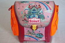 Scout Schulranzen Schulrucksack Mappe Ranzen Zauberfee Schloss Pferdekutsche