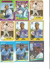 18 CARD HAL McRAE BASEBALL CARD LOT               58