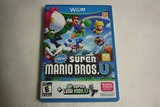 New Super Mario Bros. U + New Super Luigi U (Nintendo Wii U, 2013) *Like new*