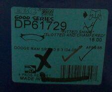 DP61729 brake pads Dodge Ram SRT 2004-2005