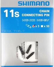 3-Pack Genuine Shimano 11-Speed Chain Connecting Pins fits Ultegra Dura-Ace 11S