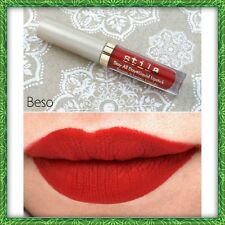 New STILA Stay All Day Liquid Lipstick BESO red .05 oz. Travel Size SHIPS FREE
