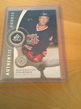 05-06 2005-06 SP GAME USED OLE-KRISTIAN TOLLEFSEN AUTHENTIC ROOKIE /999 205