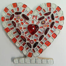 Valentines Heart Mosaic Kit - Freestanding - No cutting required