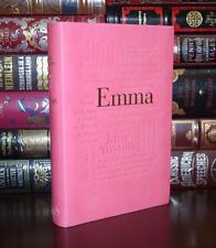 Emma by Jane Austen Unabridged Deluxe Soft Leather Feel Edition