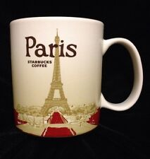 Starbucks Paris Icon Mug France Louvre Eiffel Tower Notre Dame Seine New Cup