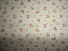 Chic Rose Garden Tiny Flower Rose Fabric Pink Quilting Chic Pink Shabby Fabric