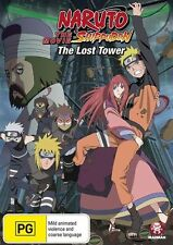Naruto Shippuden Movie 4: The Lost Tower NEW R4 DVD