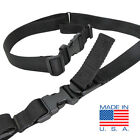 CONDOR Nylon SPEEDY Two Point Rifle Sling us1003 -Made in USA - BLACK