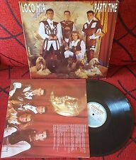 LOCO MIA *** Party Time *** VERY SCARCE 1992 Spain LP w/ INSERT
