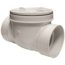 Canplas 223284W Pvc Dwv Backwater Valve Without Sleeve 4 In. NEW