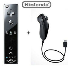 NEW Official WHITE REAL NINTENDO Wii/Wii U Remote Plus Controller and Nunchuk