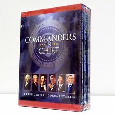 Commanders-in-Chief: 6 Presidential Documentaries 2014, new 6-Disc DVD set Obama