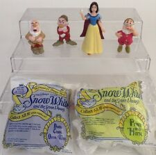 McDonald's Toys Snow White and the Seven Dwarfs Lot of 6 Happy Meal 1992