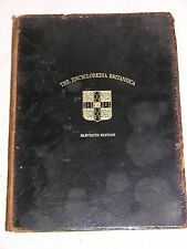 Encyclopedia Britannica Eleventh Edition 1911 volume XXIII RF F To SAI
