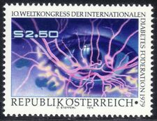 SELLOS TEMA MEDICINA. AUSTRIA 1979 1447 CONGRESO DIABETES  1v.