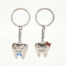 Valentine's Day Nice Gift Happy Smile Tooth Key Chain Personalized Decoration