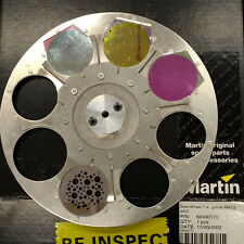 Martin Mac 2000 Gobo Wheel 1 with 4 glass gobo's magnet missing