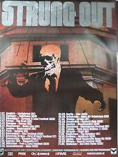 Strung Out 2011  Original Concert/Promo Poster DIN A 1 = 84 x 60 cm