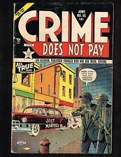 Crime Does Not Pay #111 ~ 1952 (4.0) WH