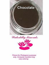 Chocolate Brown Minerals Eye Shadow Bare Makeup Eyeshadow Full Size New/Sealed