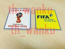 2018 World Cup qualifiers Patch Football Badges For Soccer Jersey