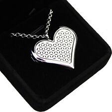 Heart Aromatherapy Essential Oil Necklace Fragrance Diffuser Pendant Locket