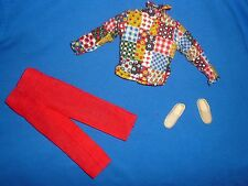 Vintage Mod Era Ken Doll Size Groovy Clone Outfit ~ Shirts, Cords & Sneakers