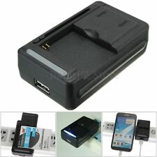Portable USB Battery Desktop Dock Charger For Samsung Galaxy Note 4 3 2 S5 Black