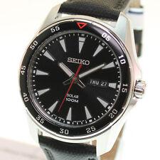 Seiko Herren Armbanduhr Solar SNE393P2 - NEU - 10339