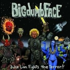 Big Dumb Face Duke Lion Fights The Terror CD NEW SEALED Metal Limp Bizkit