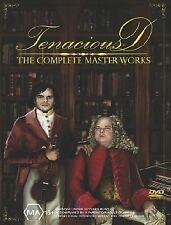 Tenacious D - The Complete Masterworks (DVD, 2003) CASE IS NEW DISCs VGC