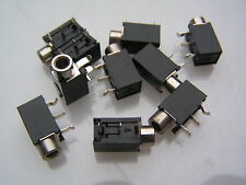 3.5 mm MONO Jack Socket PCB commutata angolo retto Mount na35mns 10 PC om565