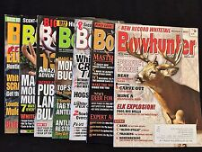 BOWHUNTER Magazines (2000-2014) LOT of 7 Martin Archery Family Collection