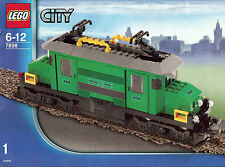 Lego® Eisenbahn RC Lokomotive aus 7898 grünes Schienenkrokodil Motor *geprüft*