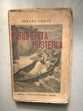 CESARE CANTU' MARGHERITA PUSTERLA 1896