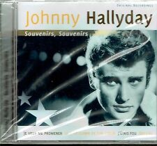 CD - JOHNNY HALLYDAY - Souvenirs , souvenirs