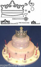 Crowns Patchwork Cutters Sugarcraft  3 sizes 11 cutters NEXT DAY DESPATCH