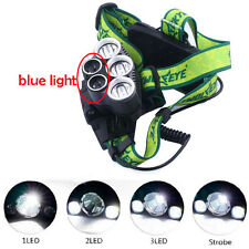 30000LM 5* CREE XM-L T6 LED Rechargeable Bright Headlamp Head Light Flashlight