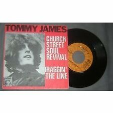 TOMMY JAMES - Church Street Soul Revival / Draggin' The Line French PS Pop 70'