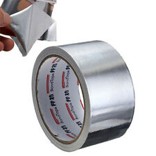 50MM x17M Roll Silver Aluminium Adhesive Foil Sealing Tapes Heating Duct Repairs