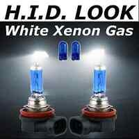 H11 501 55w White Xenon HID Look Fog Light Lamp Bulbs E Marked Road Legal
