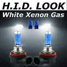 H11 501 55w White Xenon HID Look Fog Light Lamp Bulbs E Marked Road Legal