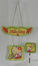 HELLO KITTY GARDEN WELCOME SIGN & STAKE NICE GIFT FREE USA SHIPPING NIB