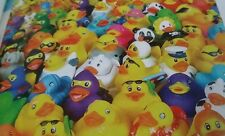 Lot of 6 Rubber Ducks Fun Party Favor, Birthday, Promotional Event, Party Bags