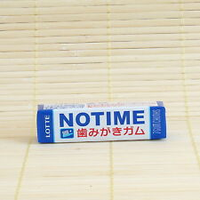 """Japan Lotte NO TIME """"Self Brushing"""" Chewing GUM Strong Japanese Candy 7pc pack"""